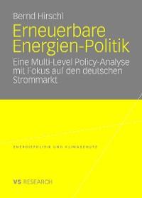 Cover Erneuerbare Energien-Politik