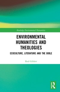 Cover Environmental Humanities and Theologies