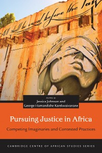 Cover Pursuing Justice in Africa