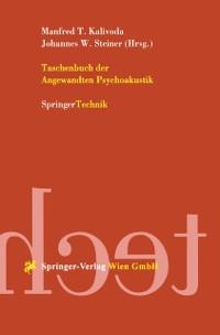 Cover Taschenbuch der Angewandten Psychoakustik