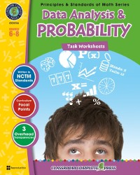 Cover Data Analysis & Probability - Task Sheets Gr. 6-8