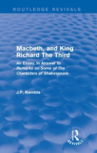 Cover Macbeth, and King Richard The Third