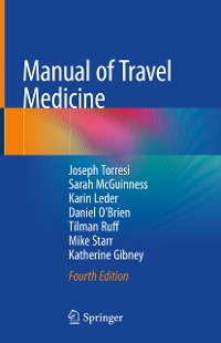 Cover Manual of Travel Medicine
