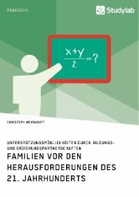 Cover Familien vor den Herausforderungen des 21. Jahrhunderts