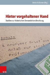 Cover Hinter vorgehaltener Hand