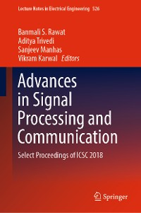 Cover Advances in Signal Processing and Communication