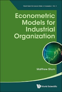 Cover Econometric Models For Industrial Organization