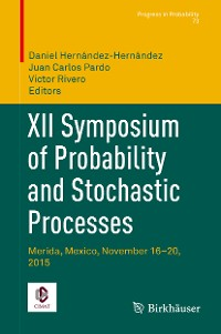 Cover XII Symposium of Probability and Stochastic Processes