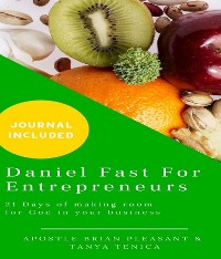 Cover Daniel Fast For Entrepreneurs