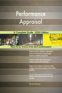 Cover Performance Appraisal A Complete Guide - 2020 Edition