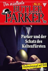 Cover Der exzellente Butler Parker 23 – Kriminalroman