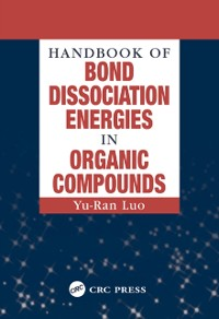 Cover Handbook of Bond Dissociation Energies in Organic Compounds