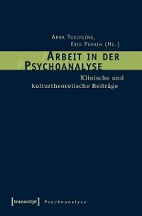Cover Arbeit in der Psychoanalyse