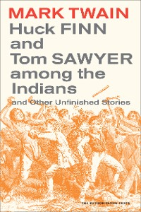 Cover Huck Finn and Tom Sawyer among the Indians