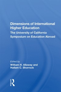 Cover Dimensions Of International Higher Education