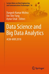 Cover Data Science and Big Data Analytics