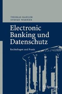 Cover Electronic Banking und Datenschutz