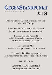 Cover GegenStandpunkt 2-18