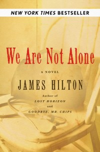 Cover We Are Not Alone