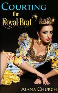 Cover Courting The Royal Brat