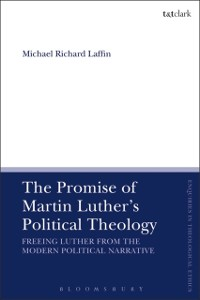 Cover Promise of Martin Luther's Political Theology