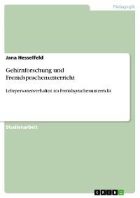 Cover Gehirnforschung und Fremdsprachenunterricht