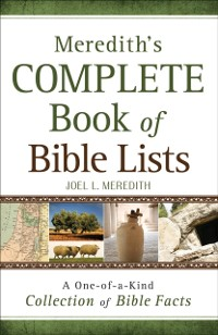 Cover Meredith's Complete Book of Bible Lists