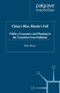 Cover China's Rise, Russia's Fall