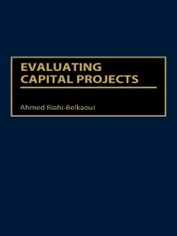 Cover Evaluating Capital Projects