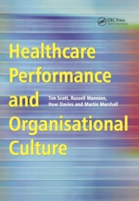 Cover Healthcare Performance and Organisational Culture