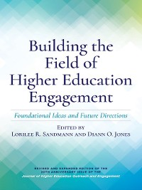 Cover Building the Field of Higher Education Engagement
