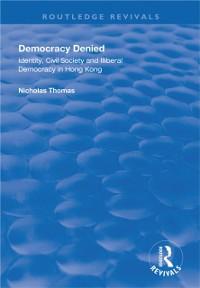 Cover Democracy Denied