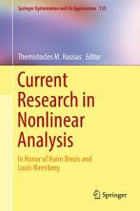 Cover Current Research in Nonlinear Analysis