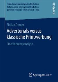 Cover Advertorials versus klassische Printwerbung