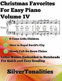 Cover Christmas Favorites for Easy Piano Volume 1 V
