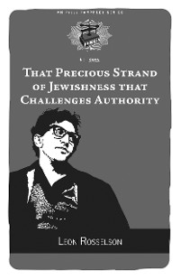 Cover That Precious Strand of Jewishness That Challenges Authority