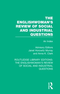 Cover Englishwoman's Review of Social and Industrial Questions