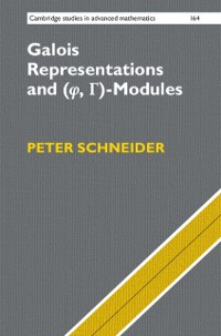 Cover Galois Representations and (Phi, Gamma)-Modules