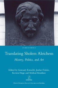 Cover Translating Sholem Aleichem