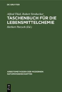 Cover Taschenbuch für die Lebensmittelchemie