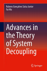 Cover Advances in the Theory of System Decoupling