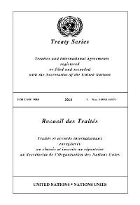 Cover Treaty Series 2989/Recueil des Traités 2989