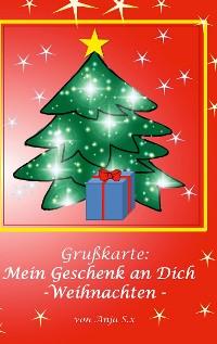 Cover Grußkarte - Mein Geschenk an Dich