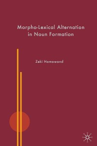 Cover Morpho-Lexical Alternation in Noun Formation