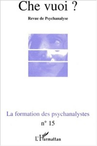 Cover LA FORMATION DES PSYCHANALYSTES
