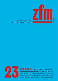 Cover Zeitschrift für Medienwissenschaft