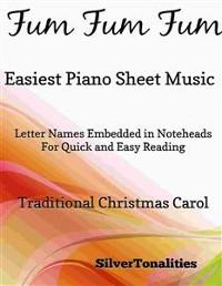 Cover Fum Fum Fum Easiest Piano Sheet Music