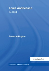Cover Louis Andriessen: De Staat