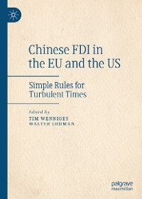 Cover Chinese FDI in the EU and the US