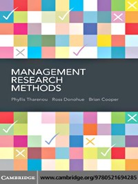 Cover Management Research Methods